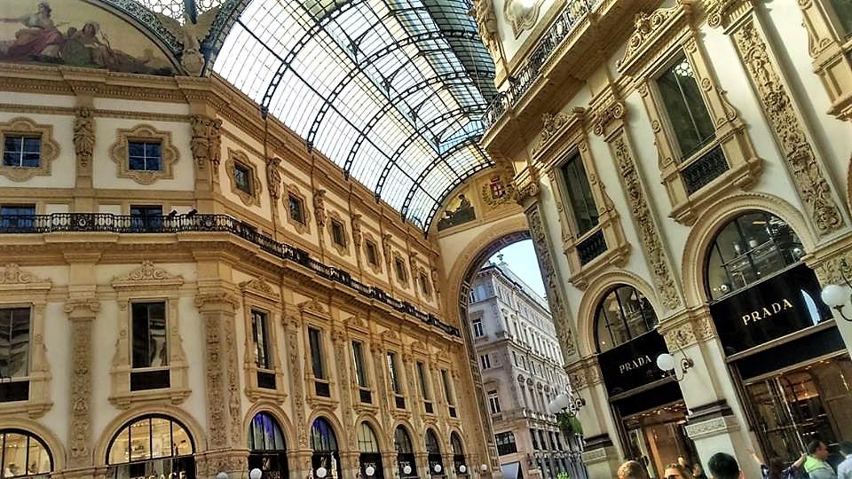 Prada shop, Milan