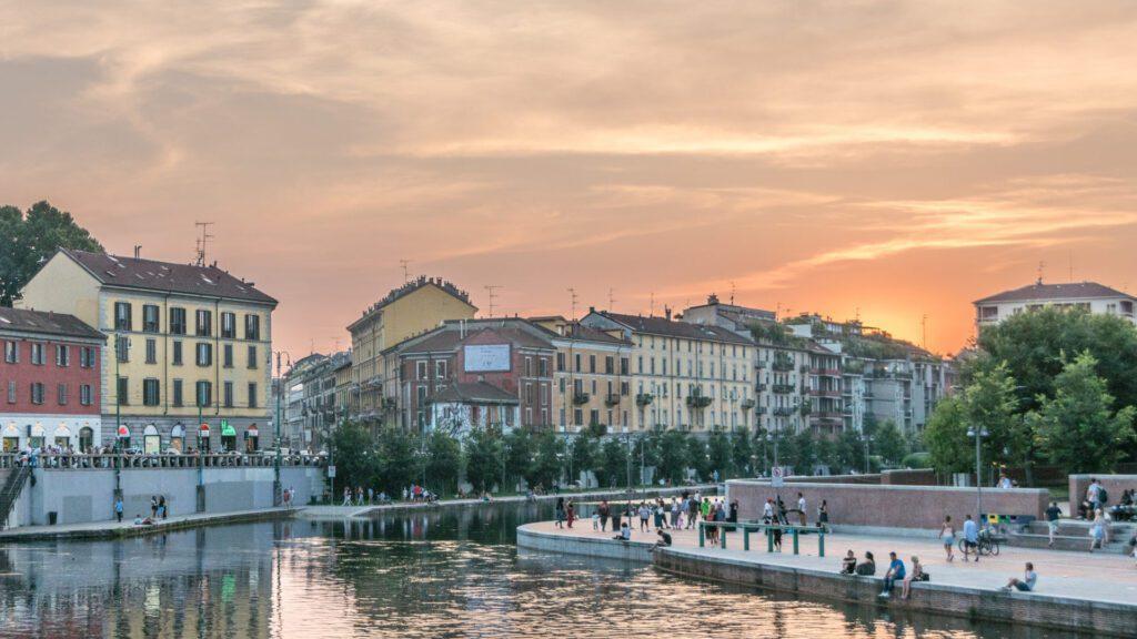 Essen und Trinken in Mailand