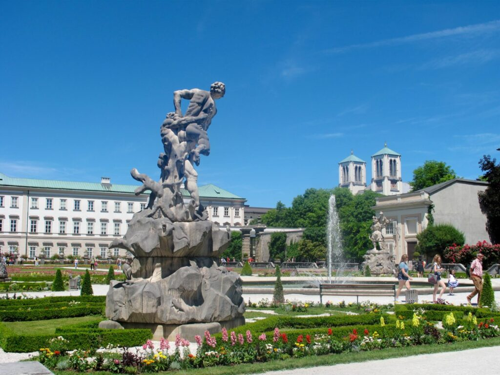 A Vegan Day Out, Mirabell Gardens
