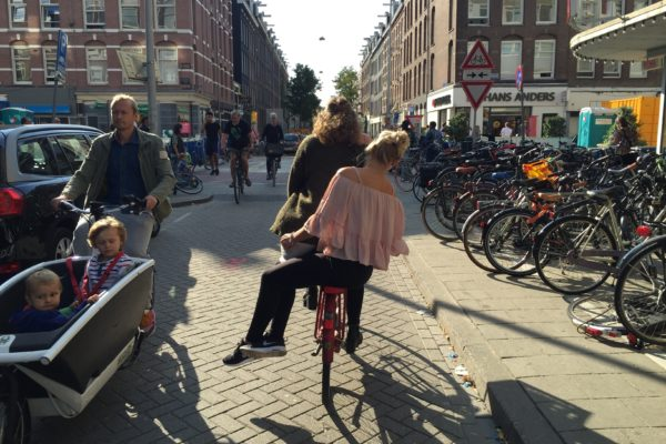 Double Down, Cycling in Amsterdam