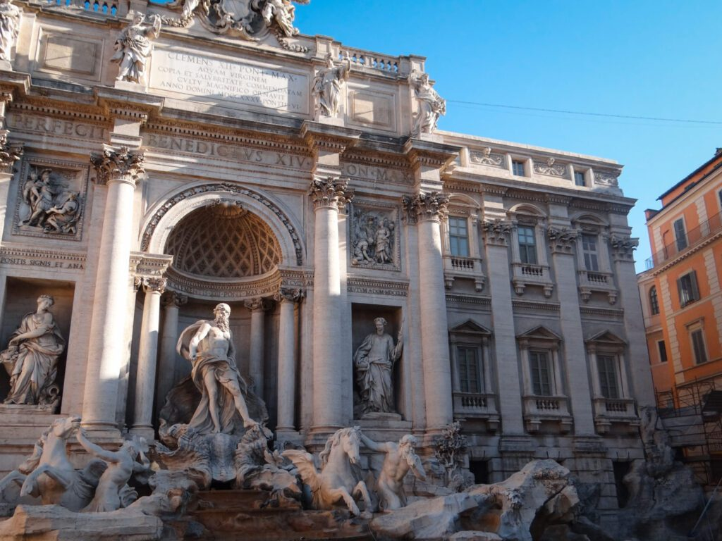 Rome Sightseeing, Trevi Fountain