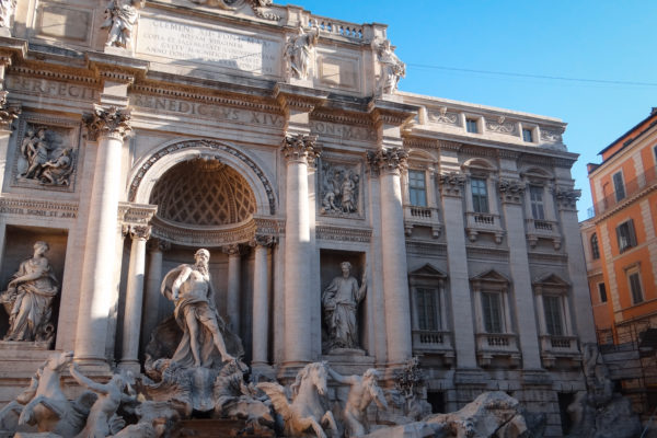 Trevi Fountain, Top 5 Places in Central Rome
