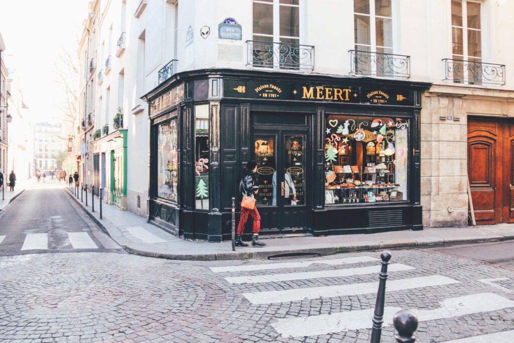 Trip to Paris, Le Marais