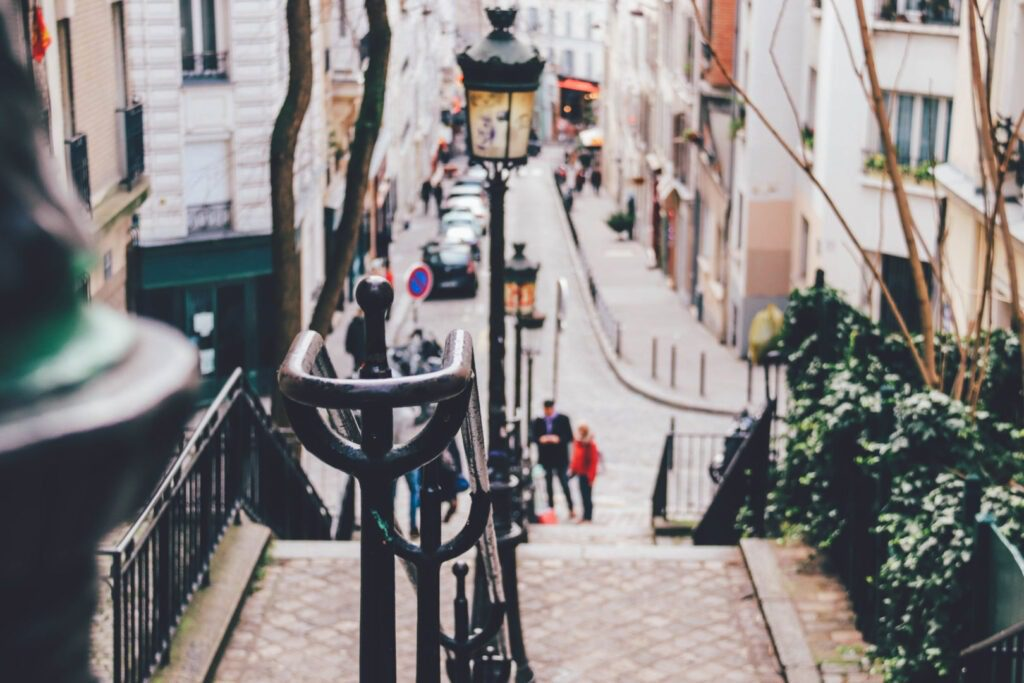 Trip to Paris, Montmartre