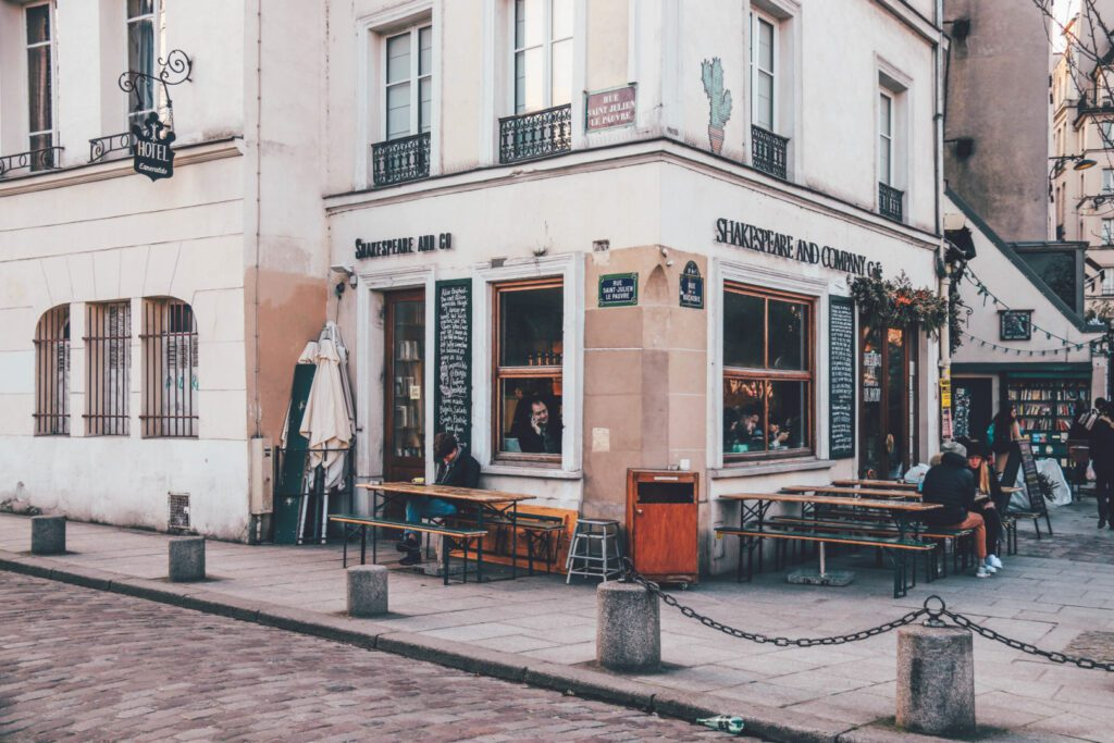 Paris entdecken: Shakespeare and Company, Top 5 Spots in Paris
