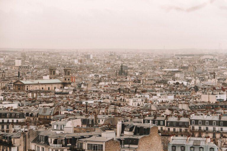 sacre coeur aussicht, Walking in Paris