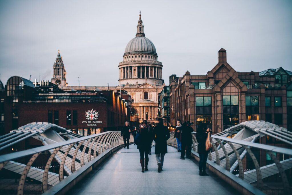 Drehorte in London