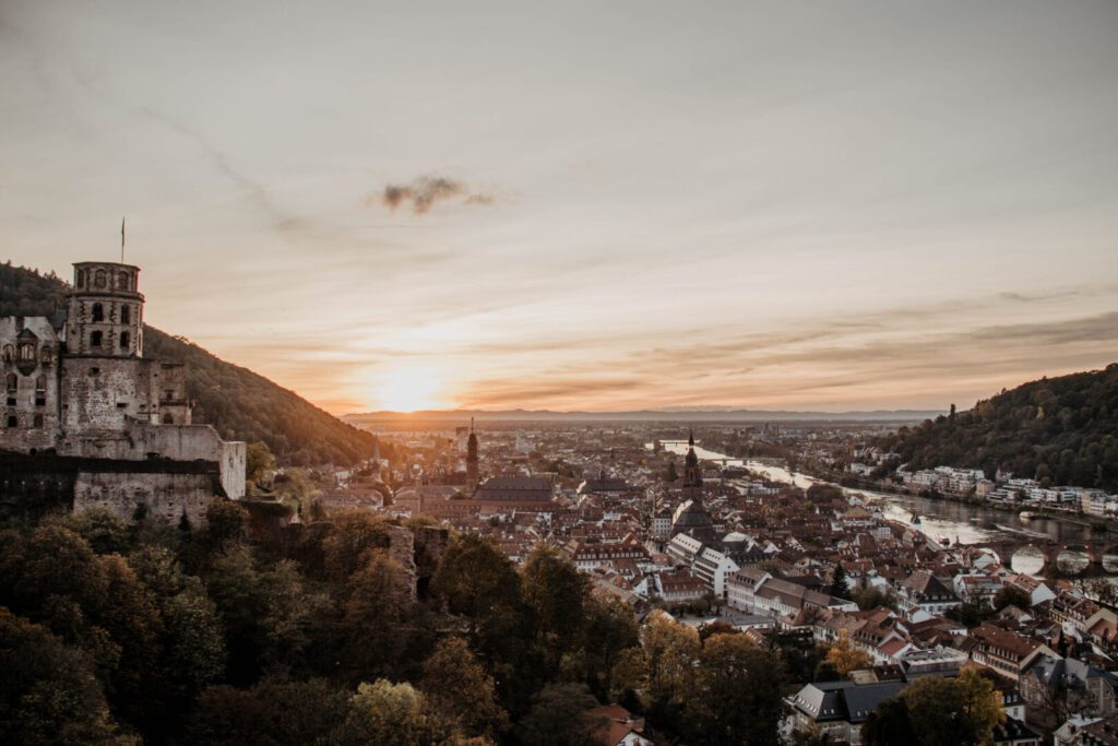 One day in Heidelberg