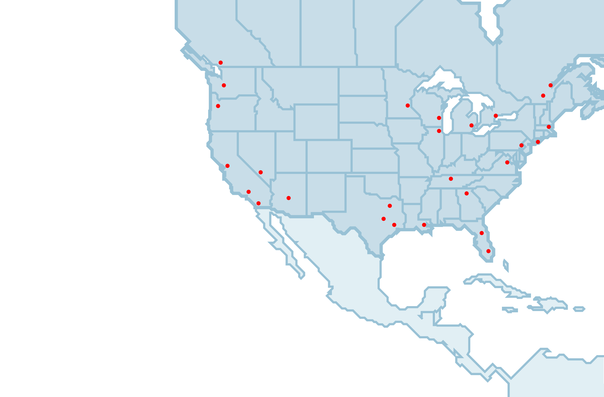 MEININGER Hotels in North America